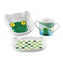Sambonet Froggy 59010-23 Set Di Piatti Per Bambini Multicolore - $30.22