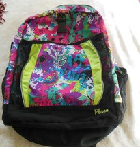 The Childrens Place Girls Backpack Hearts/Peace Colorful - $30.19