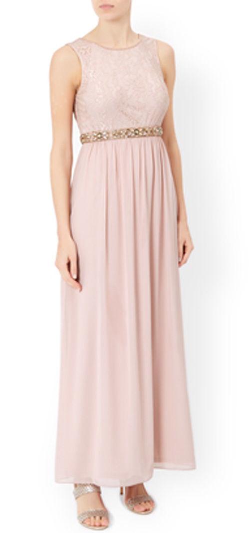 MONSOON Maeve Jewel Embellished Waistband Maxi Dress BNWT