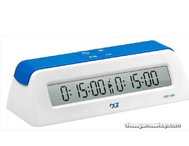 DGT 1001 -Schachuhr, Weiss, Schach timer Uhr - Digital - $20.10