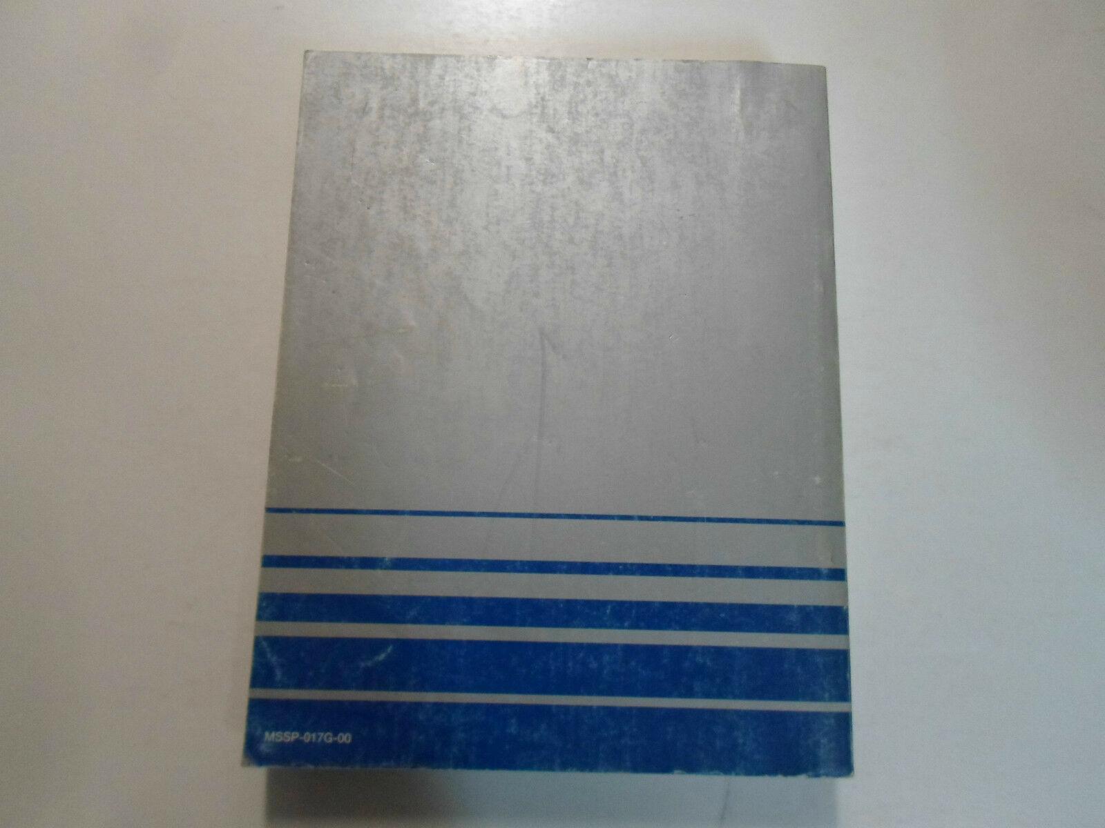 2000 Mitsubishi Technische Service Bulletins Reparatur Shop Manual Fabrik OEM 00
