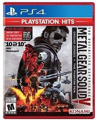 Metal Gear Solid V Definitive Experience [New] PS4 Phantom Pain Ground Zeroes