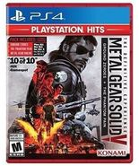 Metal Gear Solid V Definitive Experience [New] PS4 Phantom Pain Ground Z... - $29.99