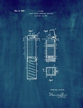 Pocket Article Dispensing Container Patent Print - Midnight Blue - $7.95+