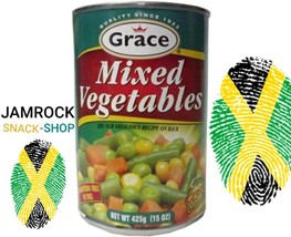2TINS OF GRACE MIXED VEGETABLES (425G EACH) - $13.00