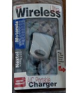 Just Wireless AC Portable Charger MOTOROLA / NEXTEL BRAND NEW IN PACKAGE - $8.90