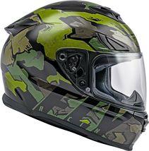 XS Fly Racing Sentinel Ambush Motorcycle Helmet Camo/Green/Grey DOT & ECE  image 5