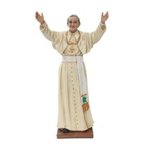 10.5 Inch Pope John Paul II Religious Resin Statue Figurine - $34.65