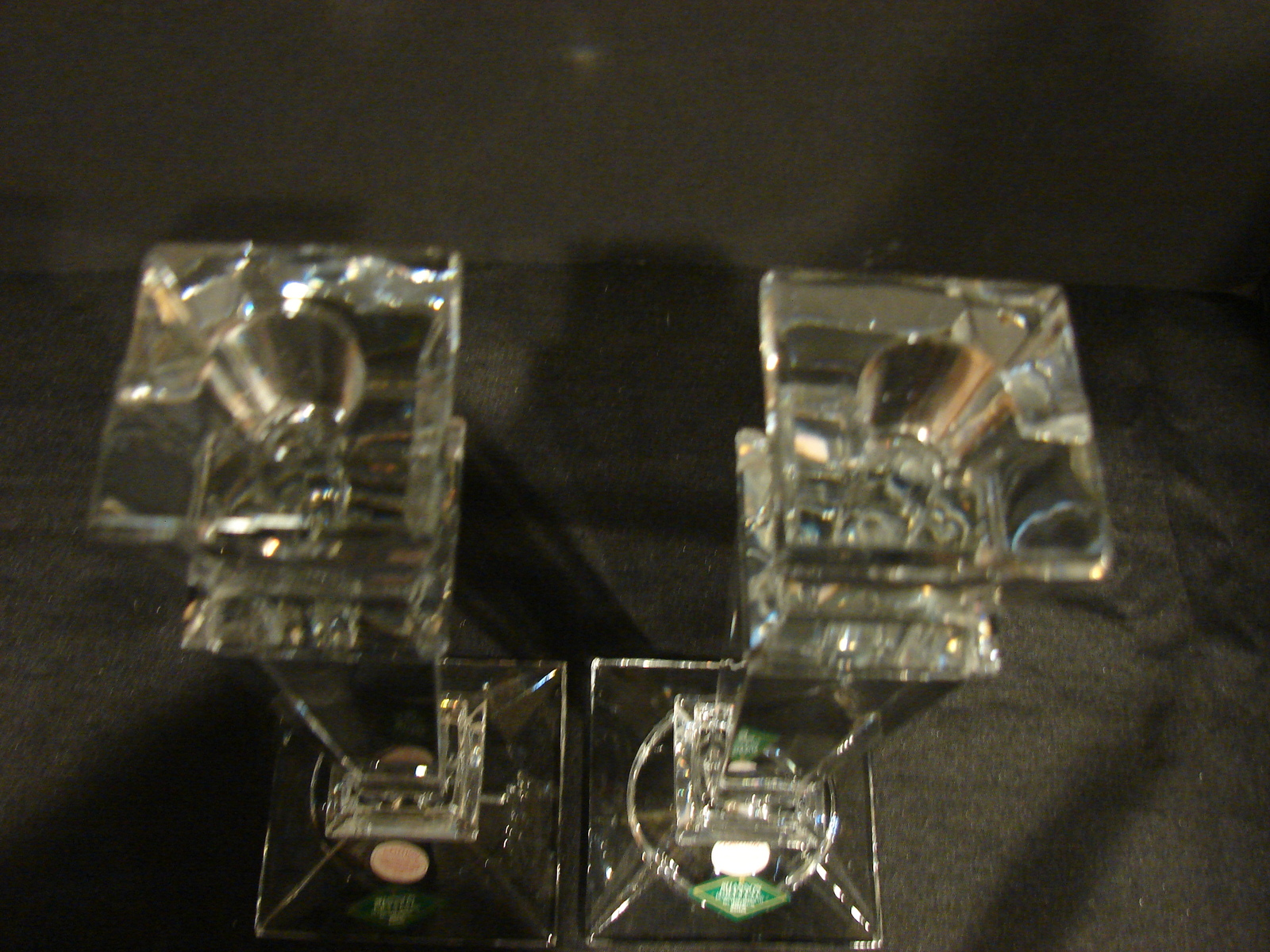"""Shannon Crystal 10"""" Candle Stick Holders (Set of 2),  image 6"""