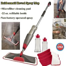 Bundle Rubbermaid Reveal Spray Mop  Kit Clean Wood & All Floor Reuse Was... - $63.35