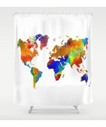 Shower curtains art shower curtain Design 33 Wo... - $69.99