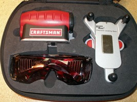 Craftsman 4-In-1 Level With Laser Trac No. 320.48247 Tinted Glasses Comp... - $14.84