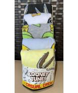 Looney Tunes 5 Pk Crew Socks Sz 8-12 Age 14+ Bugs Daffy Marvin Wile E Sp... - $21.99