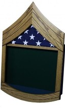 ARMY SERGEANT FIRST CLASS SFC MILITARY AWARD SHADOW BOX MEDAL DISPLAY CASE - $270.74