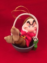 Grumpy Grolier President's Edition Ornament Disney Snow White & the Seve... - $24.69