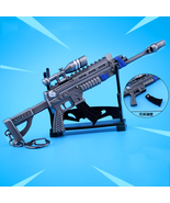 Fortnight Battle Royale Gun Keychain Toy Metal Action Figure  Model Gun ... - $13.89