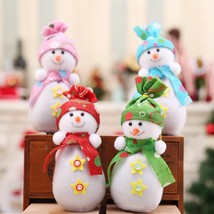 Winter Snowman Doll Designs For Gifts Bags Christmas New Year Home Decor... - $9.95