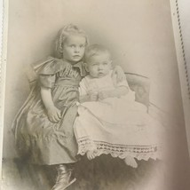 Vtg Photograph Toddler & Baby Cute Picture - $24.26