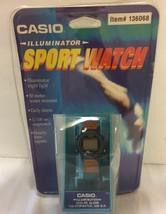VTG NOS Casio 50M Illuminator Sport Watch Water Resist Unopened Sealed E... - $222.37 CAD
