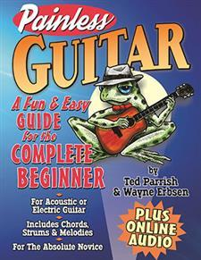 Painless Guitar Book and Online Audio by Wayne Erbsen/Perfect For Newbies!