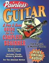 Painless Guitar Book and Online Audio by Wayne ... - $9.95