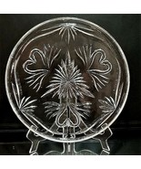 """1 WATERFORD WEDDING COLLECTION Crystal 12"""" Cake Plate with Hearts & Swan... - $75.04"""