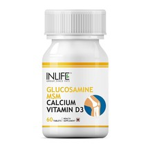 Glucosamine,MSM with Calcium and Vitamin D3, -Support Supplement - 60 Tablets - $18.55