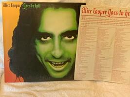 RARE! MINT! Alice Cooper Goes to Hell Album 1976 Release Record LP Vinyl... - $13.39