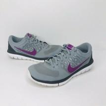 Nike Flex 2015 Run Running Sneakers Shoes 709021-003 Women's Size 7 VGC Swoosh - $29.65