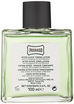 Proraso After Shave Lotion, Refreshing and Toning, 3.4 fl oz image 4
