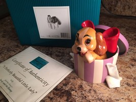 "Walt Disney Classics Coll. Lady & The Tramp ""A Perfectly Beautiful Little Lady - $75.00"