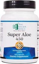 Ortho Molecular - Super Aloe 450 - 100 Capsules - $45.95