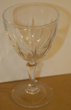 SET OF FOUR 4 CRYSTAL WINE GOBLETS VINTAGE EXCELLENT CONDITION QUALITY S... - $24.99