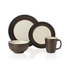 Gourmet Basics by Mikasa Avery 16 Piece Dinnerware Set (Set of 4), Assorted - $100.98
