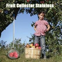Stainless Steel Tennis Harvester Fruit Ball Collector Hard Court Picker ... - $107.58