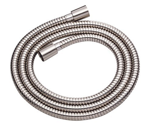 Danze D469020BN Metal Interlock Shower Hose with Brass Conical Nuts, 72-Inch, Br