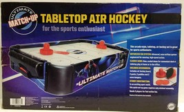 Ultimate Match-up Tabletop Air Hockey For The Sports Enthusiast  (LOC BK... - $23.36