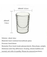 Double Wall Glass Cup Coffee Mug Thermal Travel Gift Shot Eco-Friendly R... - $14.69+