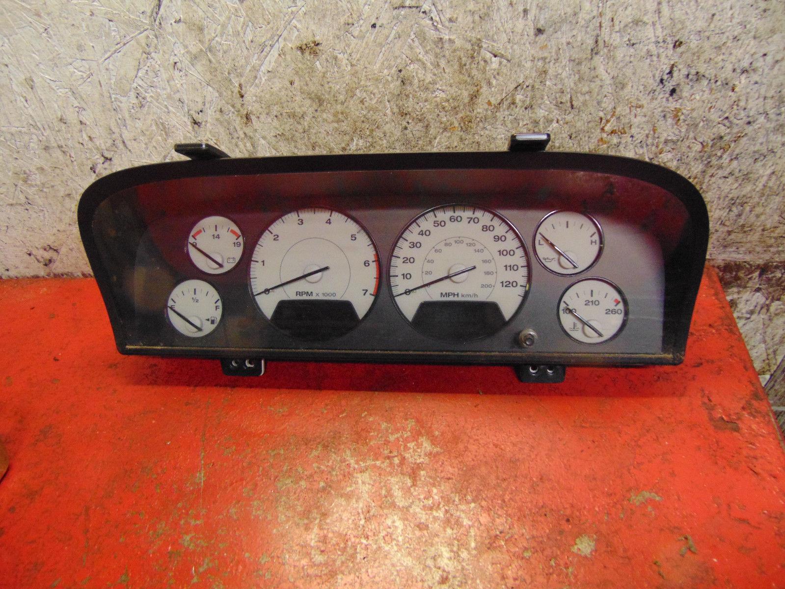 03 04 02 jeep grand cherokee speedometer instrument gauge. Black Bedroom Furniture Sets. Home Design Ideas