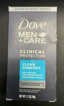 Dove Men+Care Clinical Protect Antiperspirant Deodorant 1.7 Oz  - $13.99