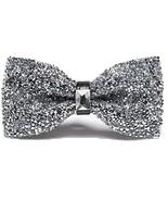 Men Luxury Sparkling Diamante Bowties Noble Shiny Crystal Rhinestone Bow... - $34.70