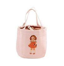 (Pink) Waterproof Large Capacity Lunch Bag for Children,Heat Retaining