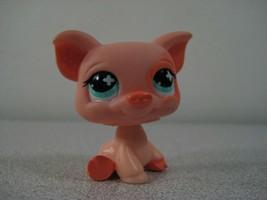 622 Pink Pig Hasbro Littlest Pet Shop Genuine LPS - $6.34