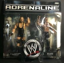 2007 Jakks Pacific WWE Adrenaline Sylvester Terkay and Elijah Burke #19 - $23.74