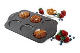 "NORPRO 3973 Nonstick Puffy Muffin Crown Pan 17""x11"" - ₨1,283.76 INR"
