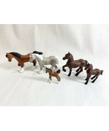 "Vtg 1997 Empire Industries Horse Figure Miniature 2""  Kid Kore Figures Lot - $14.84"