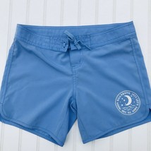 Billa Bong Swim Board Shorts Girls Size 12 Blue Lace Up Closure Cover Up... - $8.90