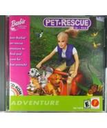 Barbie Pet Rescue CD-ROM (PC, 2000) Video Game - $13.11