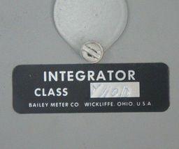 NEW BAILEY METER CO. CLASS Y110D INTEGRATOR image 5