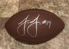 JUJU SMITH SCHUSTER AUTOGRAPHED Hand SIGNED WILSON NFL FOOTBALL STEELERS... - $159.99